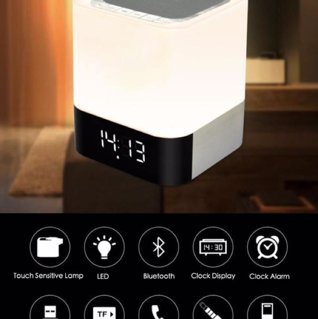 Interactive Touch Bluetooth Lamp