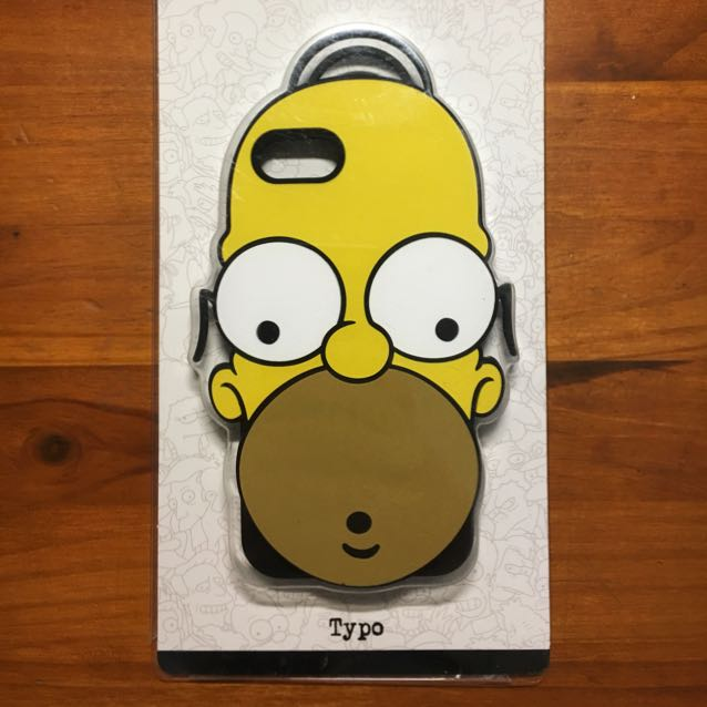 iPhone 7 Homer Simpson Cover