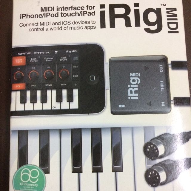 iRig MIDI interface for iphone/ipod touch/ipad