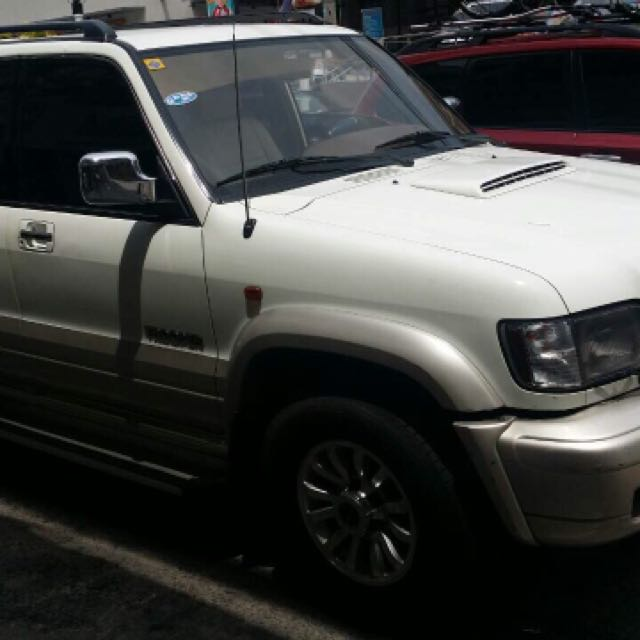 Isuzu Trooper 2002