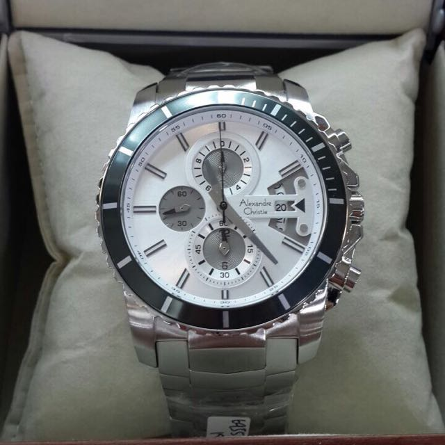 Jam Tangan Pria Alexandre Christie Original AC6455, Olshop Fashion, Olshop Pria on Carousell