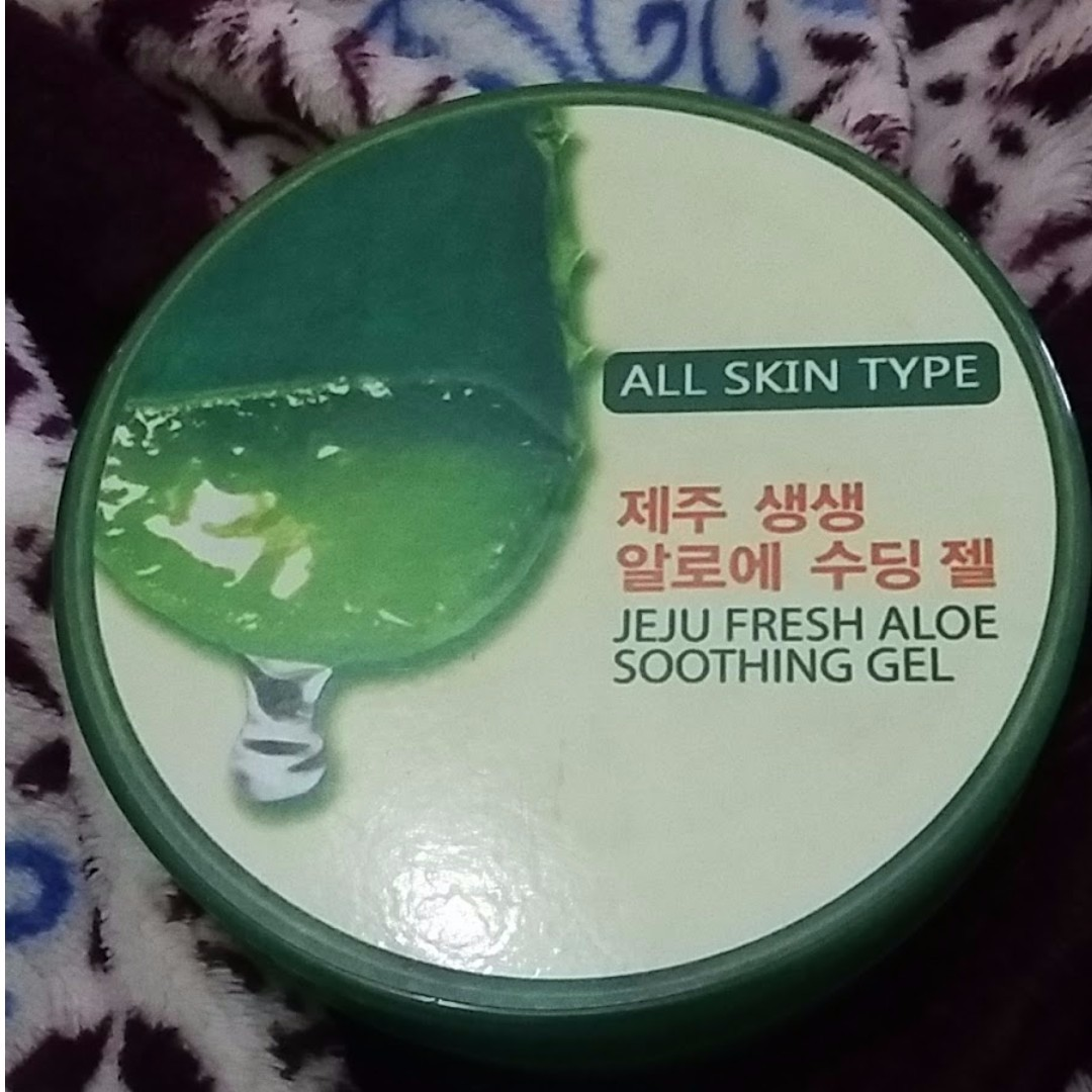 Jeju Fresh Aloevera Shooting Gel