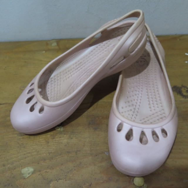 JUAL MURAH!! PRELOVED CROCS FLATS