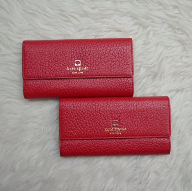Kate Spade Wallet 100% ORI !!!