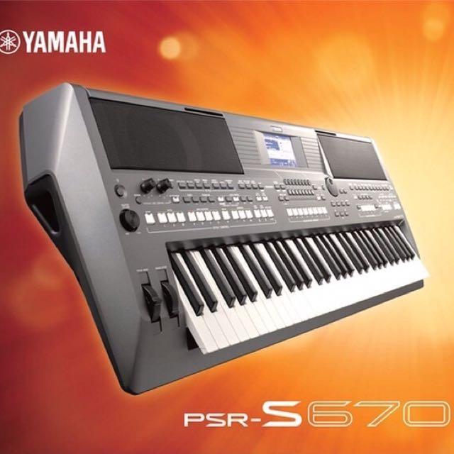 Keyboard Yamaha S-670 Garansi Resmi Yamaha 1 Tahun, Music & Media, Instruments on Carousell
