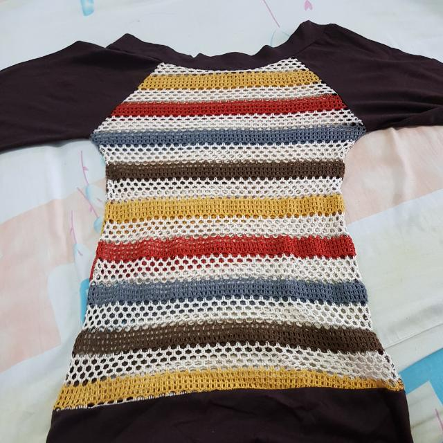 Knitted Sweater Strechable