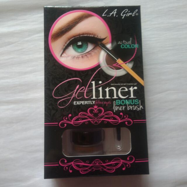 L.A Girl Gel Liner Brown