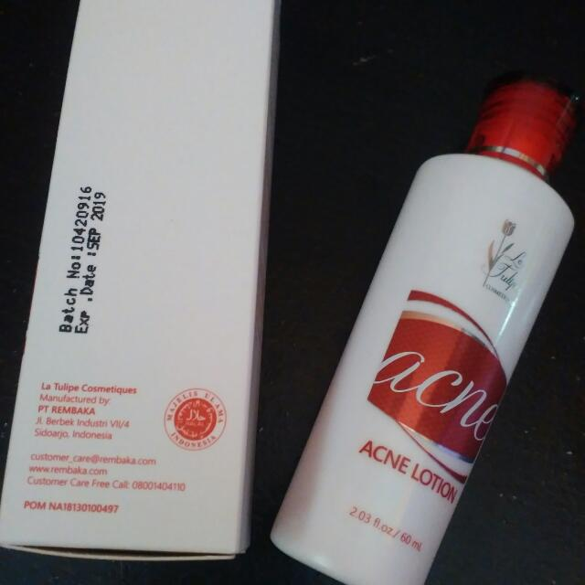 La Tulipe Acne Lotion