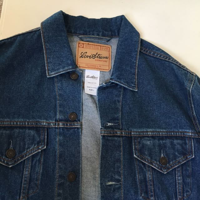 LEVI Denim Jacket Dark Blue