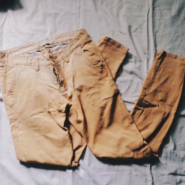 Light-khaki Chino Pants