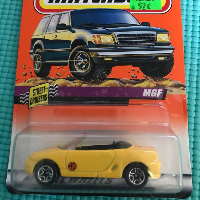 Matchbox MGF Convertible