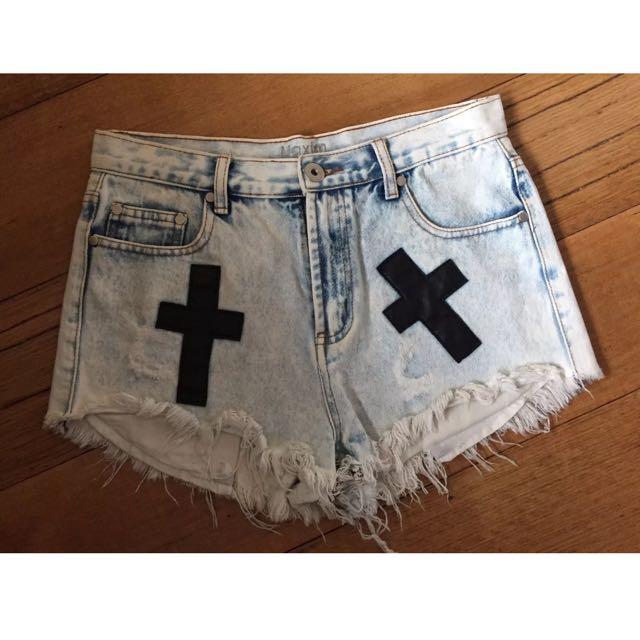 Maxim Denim Shorts 12