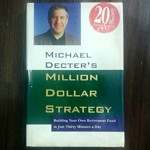 Michael Decter's Million Dollar Strategy