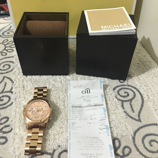 Michael Kors Limited Edition Paris Watch