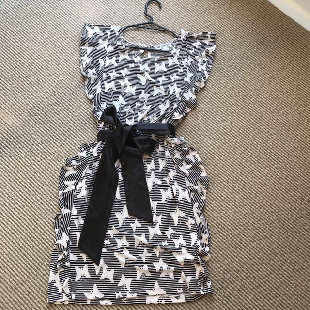 MIDI Butterfly Dress