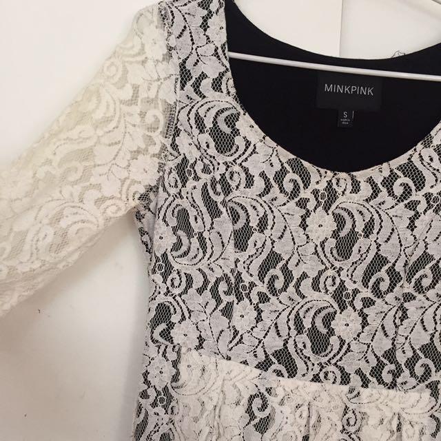 Minkpink Lace Dress