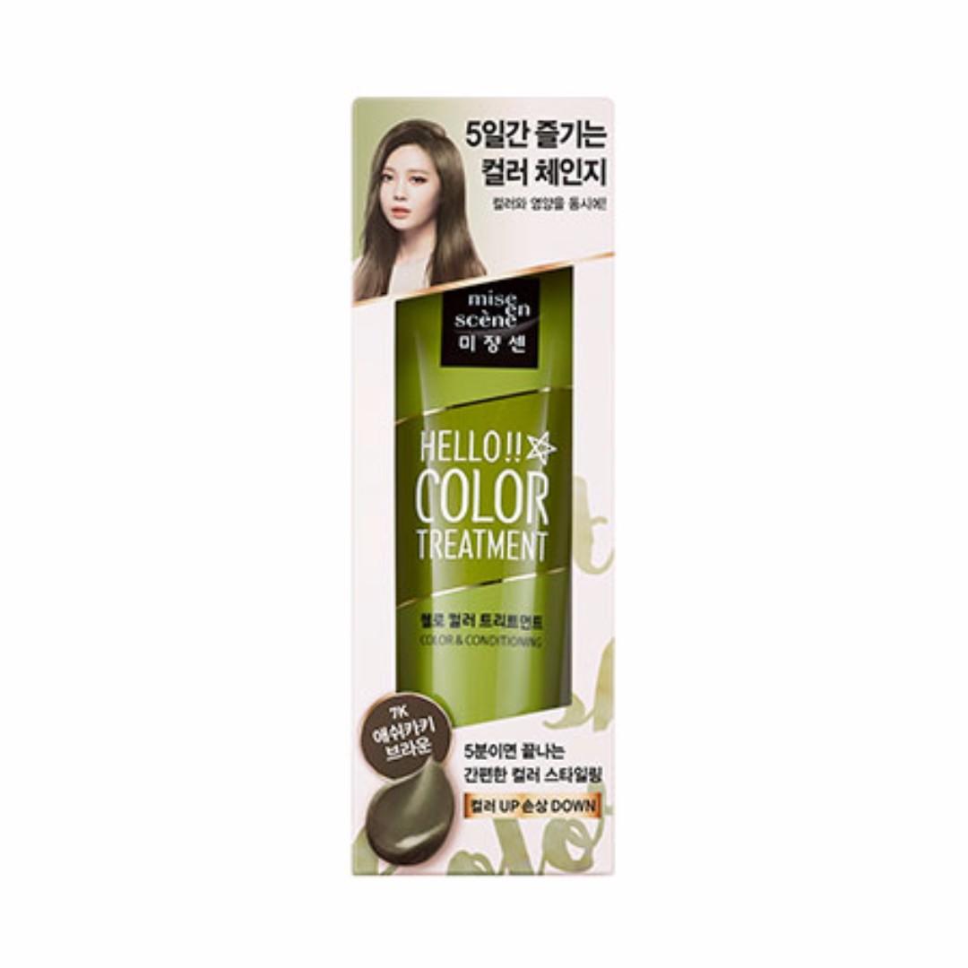『韓妝代購』〈現貨+預購〉韓國mise en scene美強生染髮護色護髮素