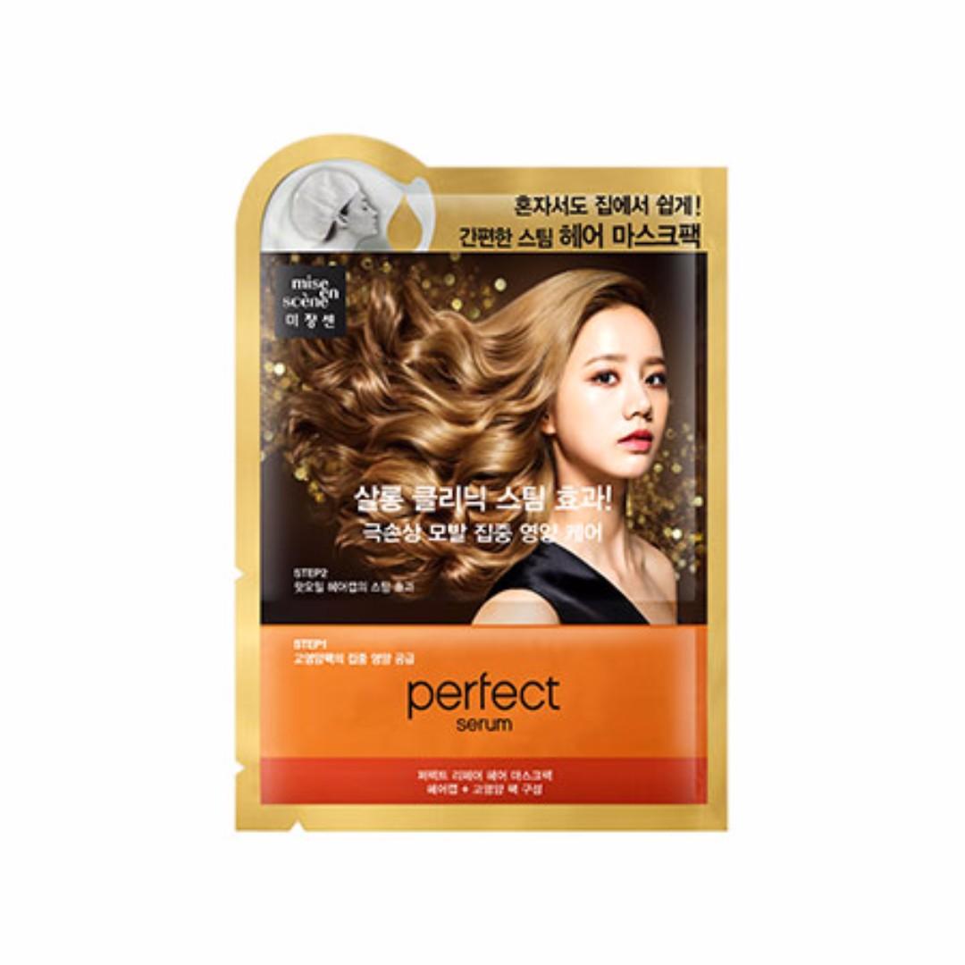 『韓妝代購』〈預購〉韓國mise en scene美強生完美修護精華護髮膜