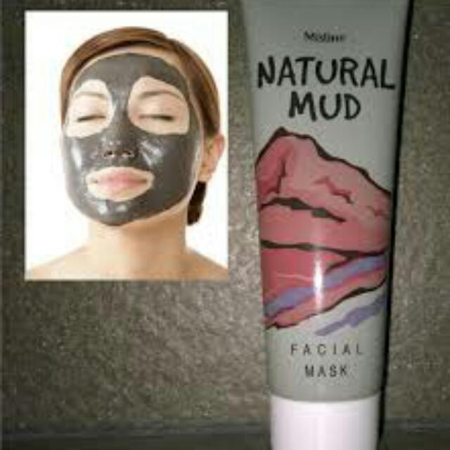 Natural Mud Mask By Mistine (On Hand)