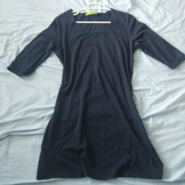 Navy Blue Dress (Semi Formal/Office) #shopmyofficewear #lovebundles