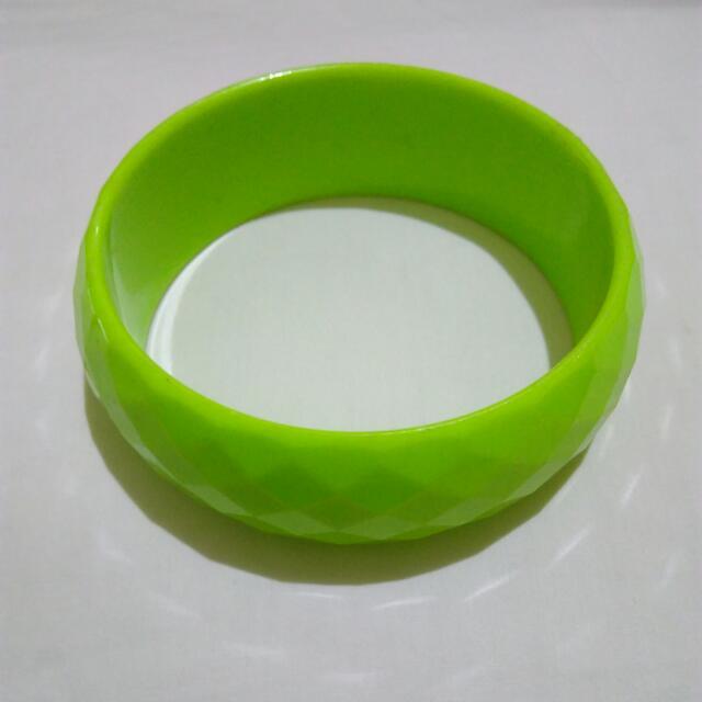 Neon Green Bangle