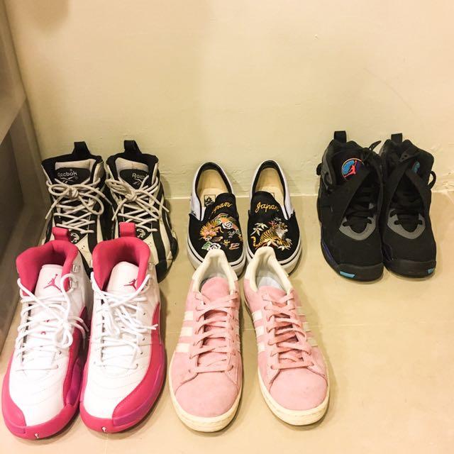 Nike Adidas Jordan Reebok Vans 鞋子販售 尺寸23.5