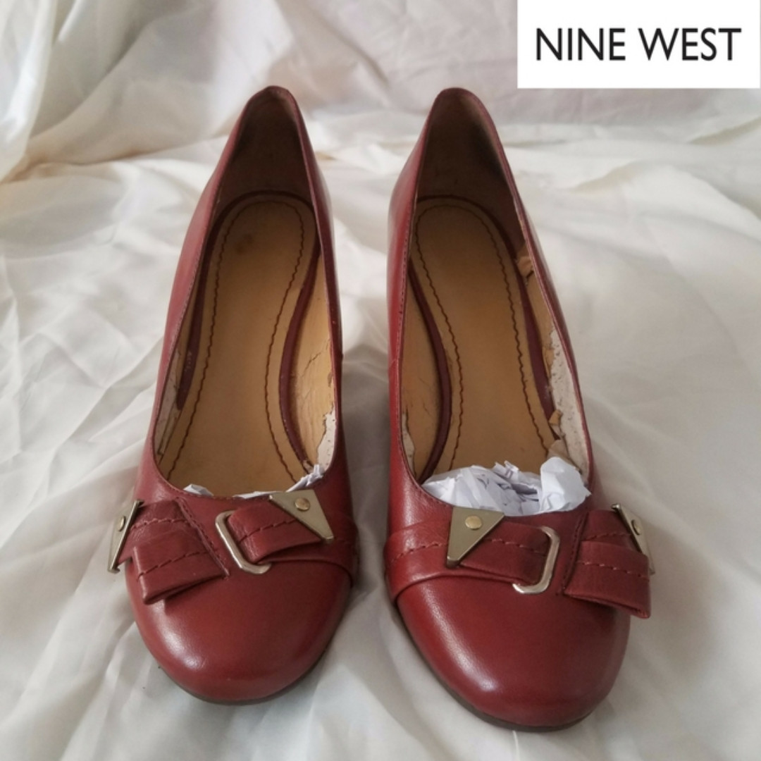 NINE WEST Wedge Shoes - Leather