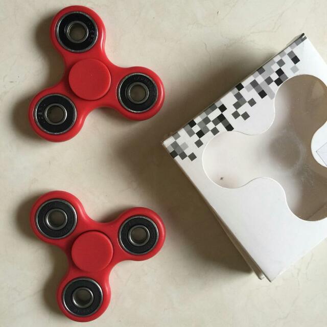 ONHAND: Fidget Spinner (Red)