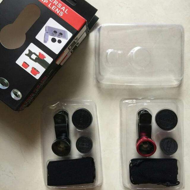 ONHAND: Universal Clip Lens (Red & Black)
