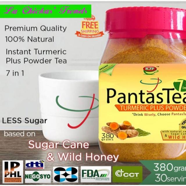PantasTea TURMERIC TEA Plus  380g