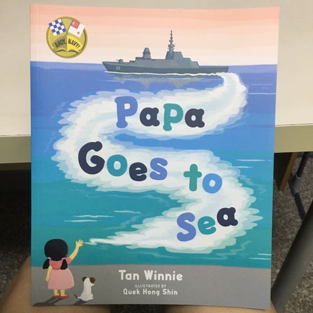 Papa Goes To Sea (Limited Edition), Books & Stationery