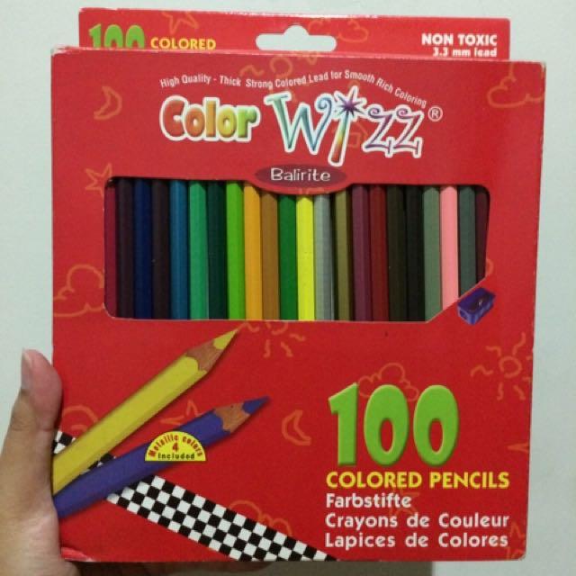 Pensil Warna Color Wizz Balirite 100 Colored Pencil