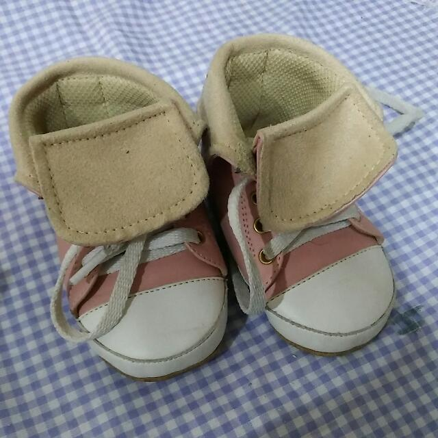 Prewalker Pink Shoes Hello Mici
