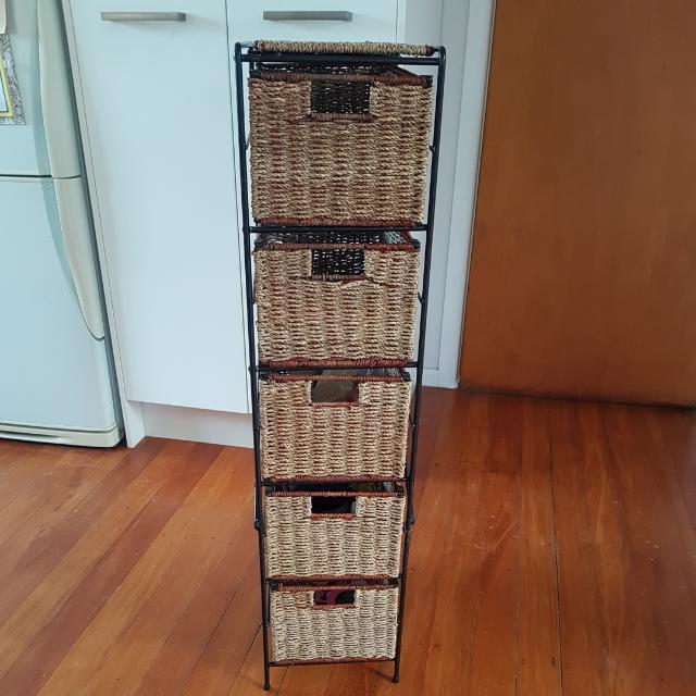 Rattan Storage Drawers