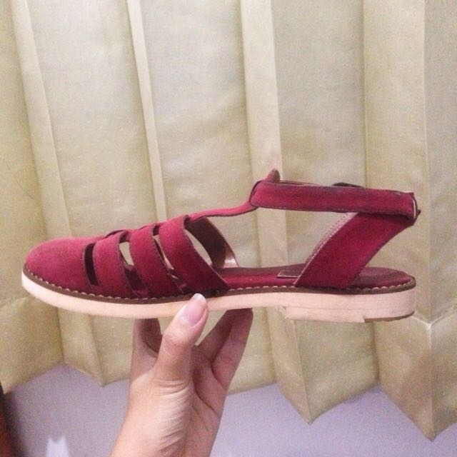 Red Sandal by Proudly Shoes