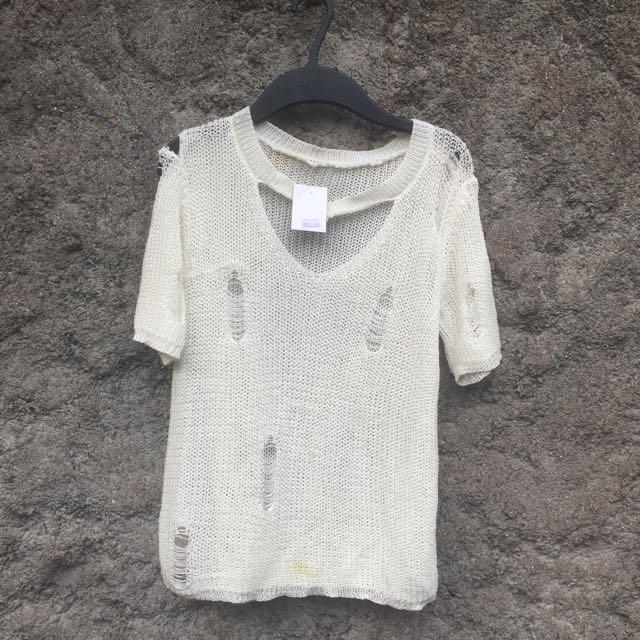 ripped shirt
