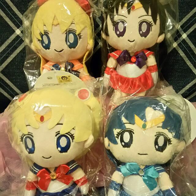 Sailor Moon Authentic Small Plush Toys