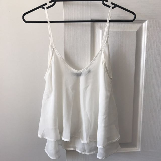 Sheer Glassons Singlet Top