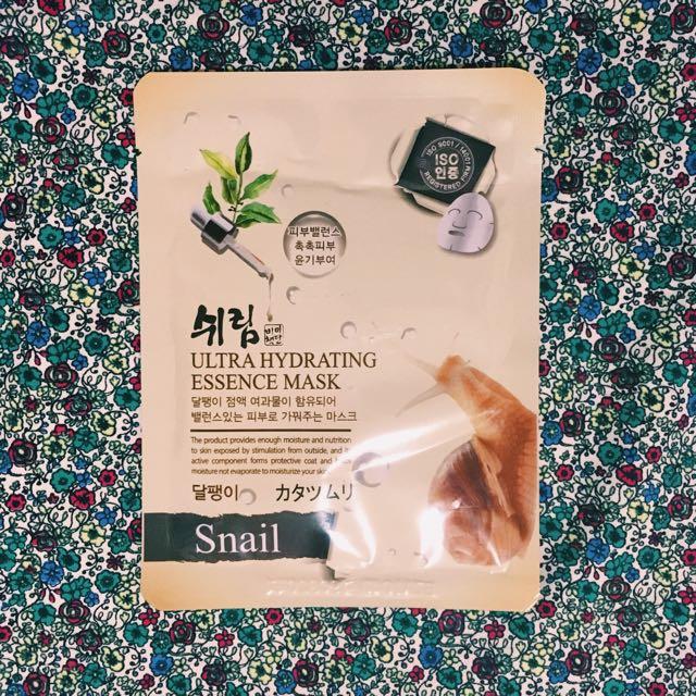Snail Shelim Face Mask