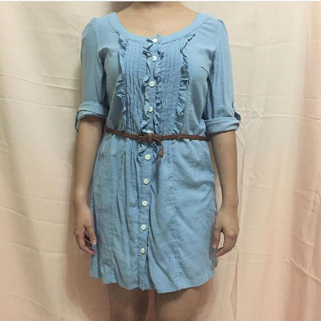 Soft Chambray Dress
