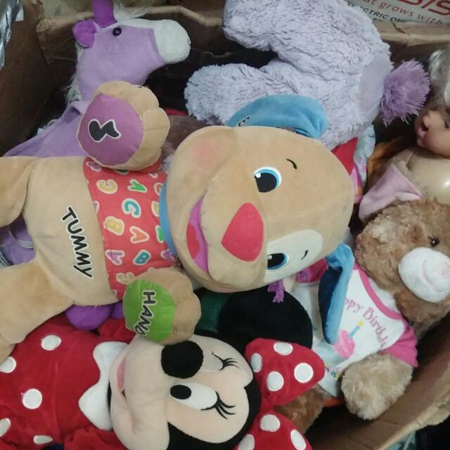 Stuff toys and Electronic toys