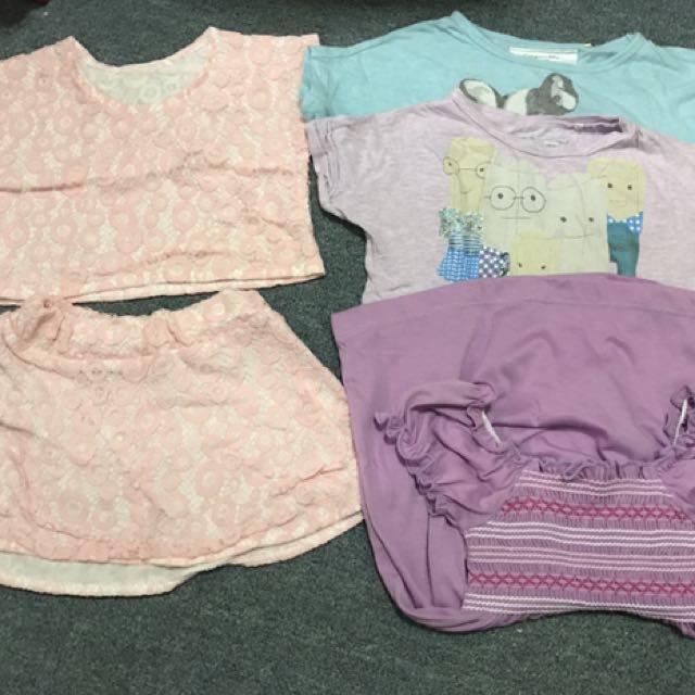 take all shirts, terno and dress