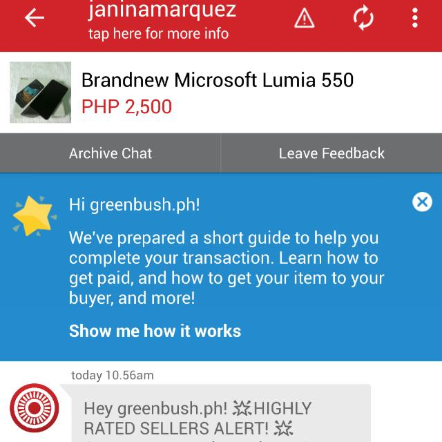 2nd Feed Back!Thank You Carousell!