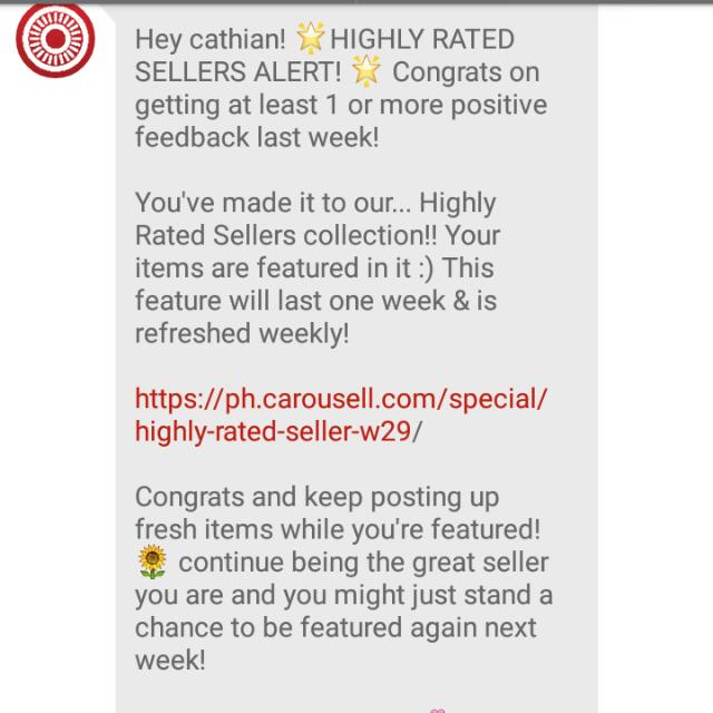 Thanks Carousell!