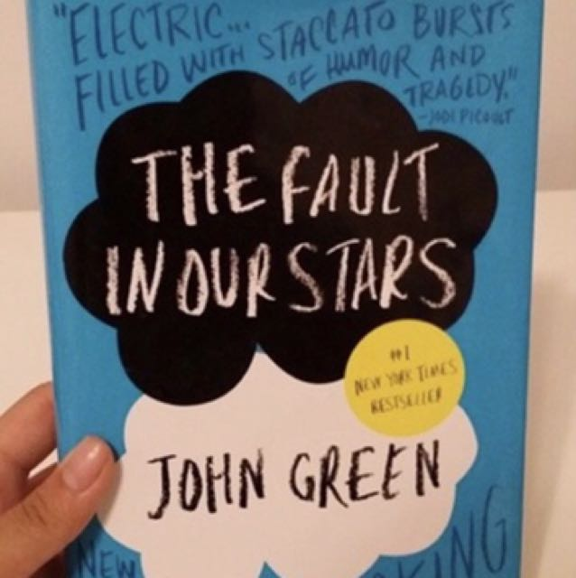 The Fault In Out Stars Book Hardcover