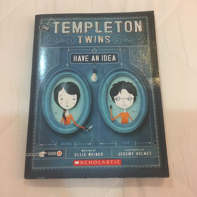 The templeton twins have an idea books stationery books on photo photo photo photo fandeluxe Image collections