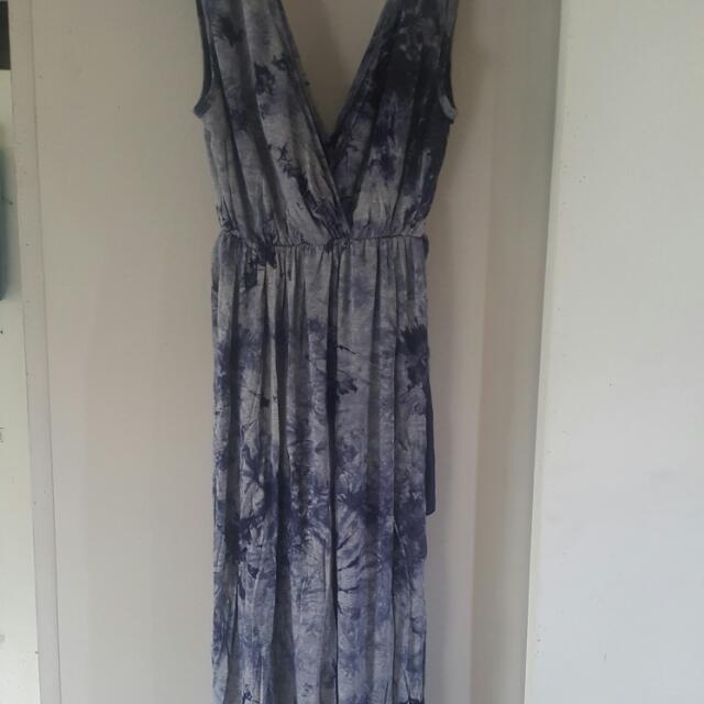 Tie Dye JNK USA Dress