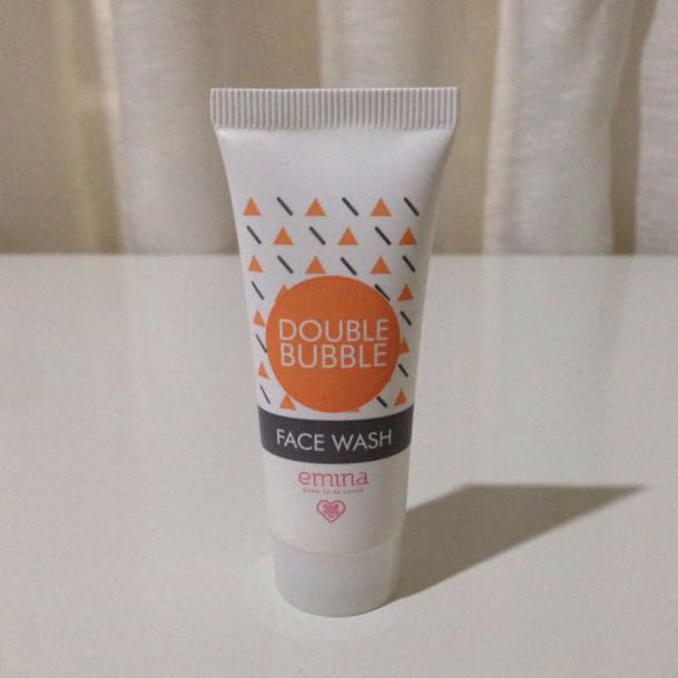 Tisgratis Emina Face Wash Double Bubble