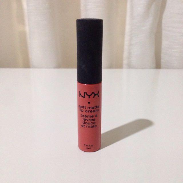 Tisgratis NYX Soft Matte Lip Cream Antwerp