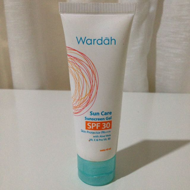 Tisgratis Wardah Sun Care Sunscreen Gel SPF 30